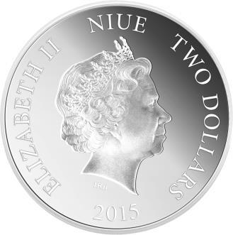 Niue - 2015 - 2 Dollars - Forgotten Cities MACHU PICCHU (PROOF)