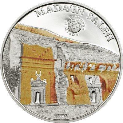 Palau - 2013 - 5 Dollars - World of Wonders MADA'IN SALEH (including box) (PROOF)