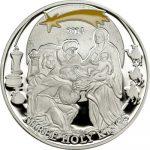 Palau - 2014 - 2 Dollars -Biblical Stories HOLY THREE KINGS (including box) (PROOF)