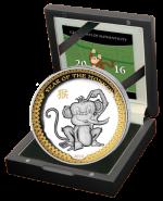 Palau - 2015 - 5 Dollars - Year of the Monkey PREMIUM VERSION (PROOF)