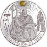 Palau - 2016 - 2 Dollars - Biblical Stories CRUCIFIXION OF JESUS (Including box) (PROOF)