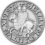 Palau - 2013 - 1 dollar - Templars (including box) (ANTIQUE)