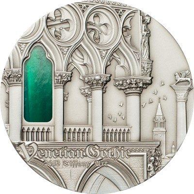 Palau - 2013 - 10 dollars - Tiffany Art VENETIAN GOTHIC (including box) (PROOF)