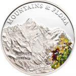 Palau - 2012 - 5 dollars - Mountains and Flora LHOTSE (including box) (PROOF)