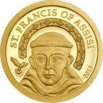 Palau - 2013 - 1 Dollar - Saint Francis of Assisi (PROOF)