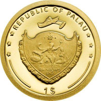 Palau - 2013 - 1 Dollar - Ludwig Leichhardt (PROOF)