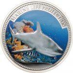 Palau - 2008 - 1 Dollar - Grey Reef Shark (PROOF)