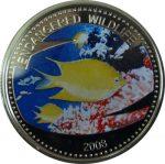 Palau - 2008 - 1 Dollar - Lemon Fish (PROOF)