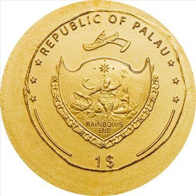 Palau - 2009 - 1 Dollar - The Coins of the Roman Empire AUGUSTUS (BU)