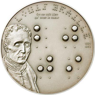 Palau - 2009 - 5 Dollars - 200th Ann. Louis Braille (BU)