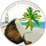 Palau - 2009 - 5 Dollars - Scent of Paradise Coconut (BU)