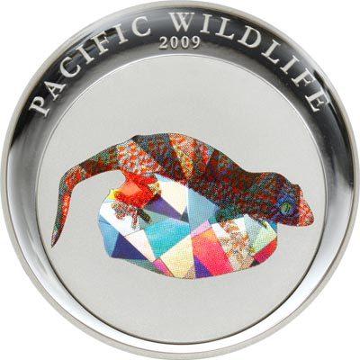Palau - 2009 - 1 Dollar - Gecko Prism (PROOF)