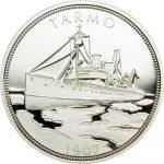 Palau - 2009 - 5 Dollars - Ship Tarmo (PROOF)