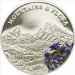 Palau - 2009 - 5 Dollars - Flora & Mountains WATZMANN (PROOF)