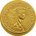 Palau - 2010 - 1 Dollar - The Coins of the Roman Empire CLAUDIUS (BU)