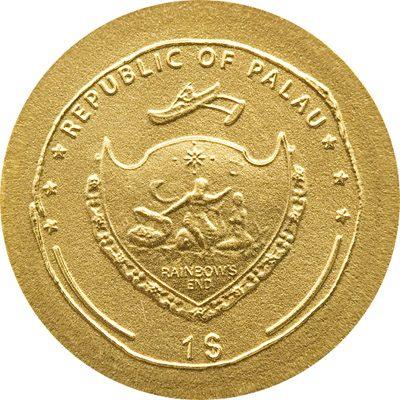 Palau - 2010 - 1 Dollar - The Coins of the Roman Empire TIBERIUS (BU)