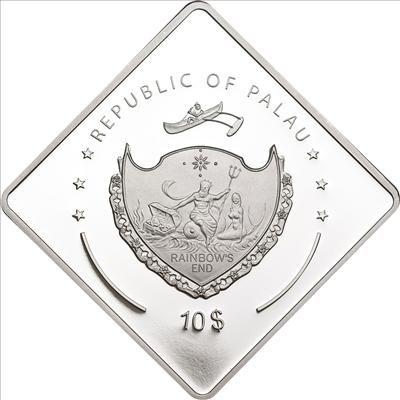 Palau - 2010 - 10 Dollars - Richelieu Battleship Series (PROOF)