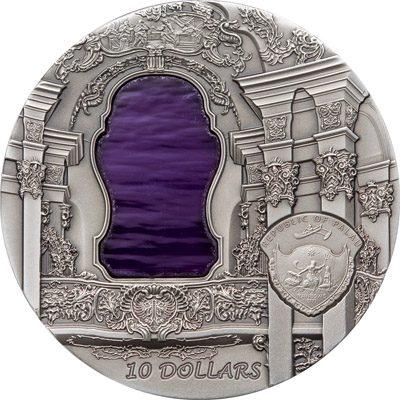 Palau - 2010 - 10 Dollars - Tiffany Art Rococo (PROOF)