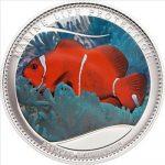 Palau - 2011 - 5 Dollars - Marine Life ANEMONEFISH (PROOF)