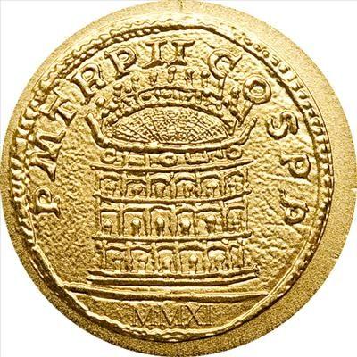 Palau - 2011 - 1 Dollar - The Coins of the Roman Empire COLOSSEUM (BU)
