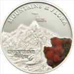 Palau - 2011 - 5 Dollars - Flora & Mountains MOUNT KENYA (PROOF)