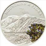 Palau - 2011 - 5 Dollars - Flora & Mountains MOUNT LOGAN (PROOF)