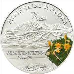 Palau - 2011 - 5 Dollars - Flora & Mountains OJOS DEL SALADO (PROOF)
