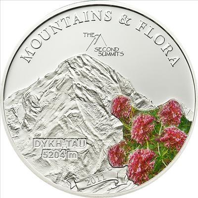 Palau - 2011 - 5 Dollars - Flora & Mountains DYKH TAU (PROOF)