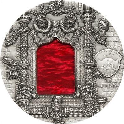 Palau - 2011 - 10 Dollars - Tiffany Art Manueline (PROOF)