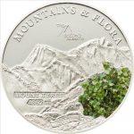 Palau - 2011 - 5 Dollars - Flora & Mountains MOUNT TYREE (PROOF)