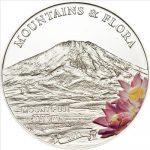 Palau - 2011 - 5 Dollars - Flora & Mountains MOUNT FUJI (incl box) (PROOF)