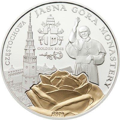 Palau - 2012 - 2 dollar - Pilgrimage & Golden Rose JASNA GORA MONASTRY (PROOF)
