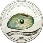 Palau - 2012 - 5 Dollars - Mystery of the Sea Marine Life Protection (incl box) (PROOF)