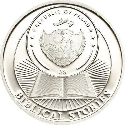 Palau - 2013 - 2 Dollars - Biblical Stories ARC OF NOAH (PROOF)