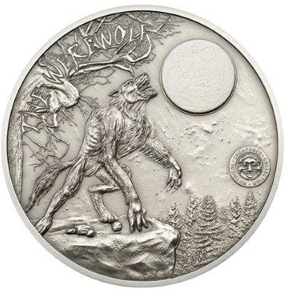 Palau - 2013 - 10 dollars - Werewolf (including box) (ANTIQUE)