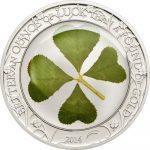 Palau - 2014 - 5 dollar - Four Leaf Clover 2014 (including box) (PROOF)