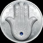 Palau - 2016 - 10 Dollars - Hand of Fatima (incl box) (BU)