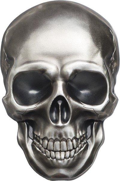 Palau - 2016 - 5 Dollars - Skull No. 1 (BU)