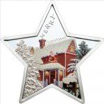 Samoa - 2012 - 5 dollars - Merry Christmas Star (including box) (PROOF)