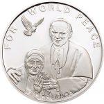 Solomon Islands - 2010 - 10 Dollar - Mother Teresa & JPII World Peace (PROOF)
