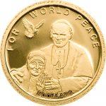 Solomon Islands - 2010 - 5 Dollar - Mother Teresa & JPII World Peace (PROOF)