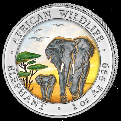 Somalia - 2015 - 100 Shillings - African Wildlife Elephant DAY (BU)