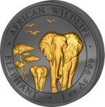 Somalia - 2015 - 100 Shillings - Golden Enigma ELEPHANT (BU)