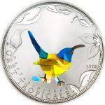 Togo - 2010 - 100 Francs - Prisma Sunbirds Blue (PROOF)