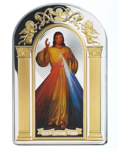 Tokelau - 2014 - 2 Dollars - The Divine Mercy (PROOF)