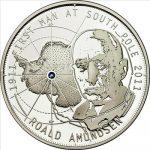 Tokelau - 2011 - 1 Dollar - Roald Amundsen (with box) (PROOF)