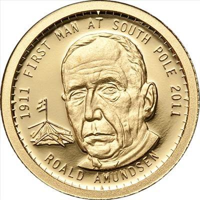 Tokelau - 2011 - 5 Dollars - Roald Amundsen (PROOF)