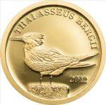 Tokelau - 2012 - 5 Dollars - Thalasseus Bergii (small gold) (PROOF)