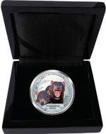 Tuvalu - 2013 - 1 dollar - Endangered Species Tasmanian Devil (PROOF)