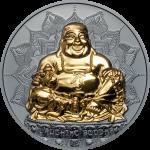 Palau - 2017 - 10 Dollars - Laughing Buddha